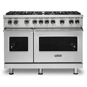 "Viking Professional 5 Series 48"" 8 VSH™ Burner Freestanding Gas Range VGR5488BSS"