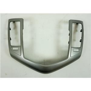 2011-2014 Chevrolet Cruze Radio Dash Trim Bezel with Silver Pattern LTZ