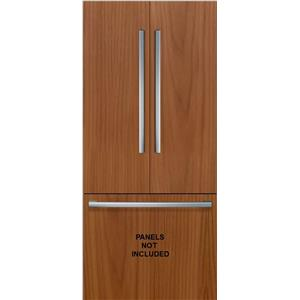 "Bosch Benchmark Series 36"" Built-In PR French Door Refrigerator B36IT900NP"