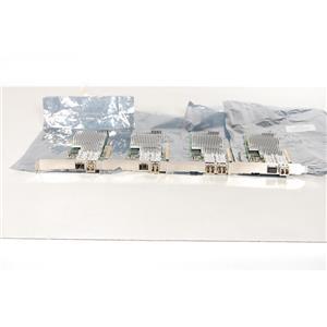 LOT of 4 HP NC522SFP Dual Port Fiber Channel Adapter
