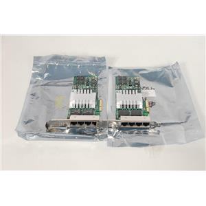 LOT of 2 HP NC364T 435506-003 436431-001 Quad Port Gigabit Adapter
