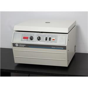 Beckman Coulter Allegra 6 Laboratory Benchtop Centrifuge 366802 Warranty