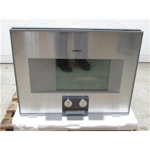 "Gaggenau 400 Series 24"" Self-Clean Combi-Steam Convection Oven BS474611"