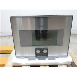 "Gaggenau 400 Series 24"" SS Halogen Lighting Combi-Steam Convection Oven BS474611"