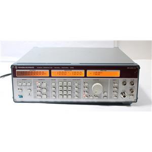 Rohde & Schwarz SMG 100 kHz 1000 MHz RF Signal Generator 801.0001.52 OPT SMG-B2