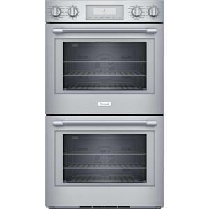 "Thermador Professional Series 30"" Self-Clean Mode Double Wall Oven PO302W Images"