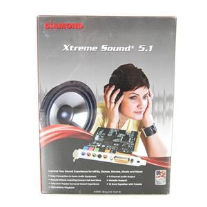 New Diamond Xtreme Sound 5.1 XS51 Sound Card