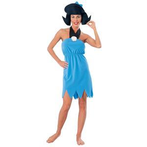 The Flintstones Betty Rubble Animated Adult Halloween Costume Standard Size