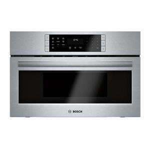 "Bosch 800 Series  30"" 1.6 cu. ft. True Convection Speed Oven HMC80151UC IMGS"