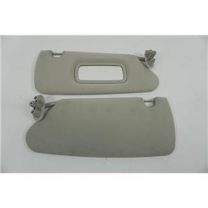 2003-2007 Dodge Dakota Sun Visor Set with Passenger Side Mirror