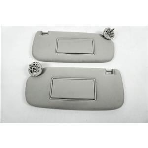 2011-2017 Dodge Durango Sun Visor Set with Covered Mirrors and Adjust Bars