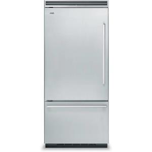 "Viking Designer Series 36"" 20.3 Quiet Cool Built-in Refrigerator DDBB536LSS"