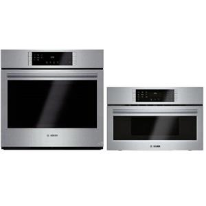 """Bosch 800 30"""" Convection Combination Oven / Speed Oven HBL8451UC / HMC80152UC"""