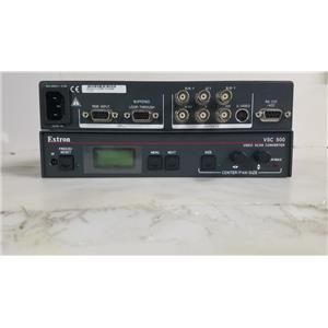 EXTRON VSC-500 HIGH RESOLUTION COMPUTER TO VIDEO SCAN CONVERTER 60-476-01
