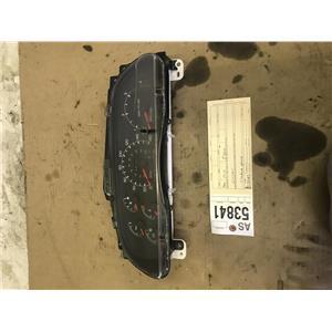1999 2000 Ford F350 F250 diesel gauge cluster 4wd tag as53841