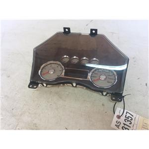 2008-2010 Ford F250 F350 Lariat gauge cluster tag as31357
