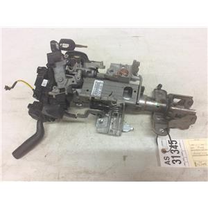 2011-2013 Ford F350 6.7L powerstroke Lariat steering column tag as31345
