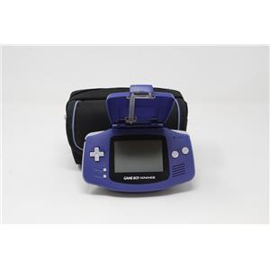 Nintendo AGB-001 Game Boy Advance Indigo Purple