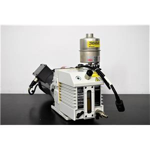 2012 Leybold Trivac D8B Rotary Vane Dual Stage Vacuum Pump w/Baldor .33 HP Motor