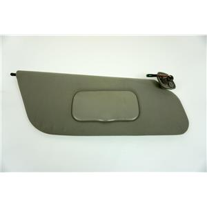 1999-2001 Ford F250 F350 Passenger Side Sun Visor with Covered Lighted Mirror