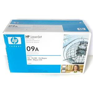 New Genuine HP LaserJet 09A Black Print Cartridge C3909A