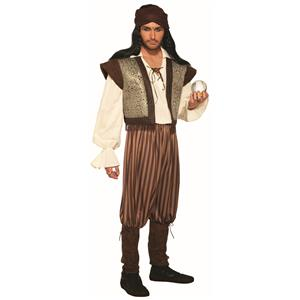 Woodland Fortune Teller Gypsy Men's Adult Costume