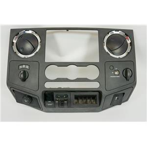 2008-2010 Ford F250 F350 SD Radio Climate Center Dash Bezel Vents 4WD Gain 12V