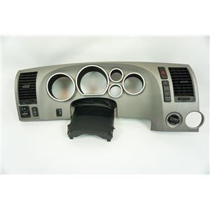 Toyota Tundra 2007-2011 Gray Dash Speedometer Bezel Vents Dimmer 4WD Controls