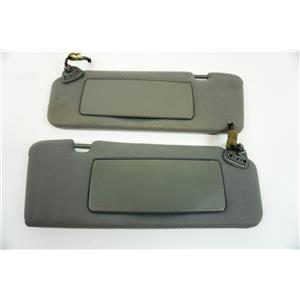 2000-2003 Toyota Solara Coupe Sun Visor Set with Lighted Mirrors Extend Panels