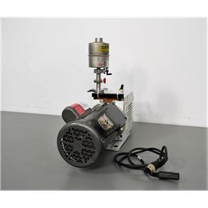 Used: Tested Leybold Trivac D8B RotaryVane Dual Stage Vacuum Pump w/Baldor.33 HP Motor
