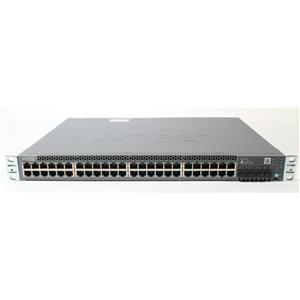 Juniper EX3400 EX3400-48P-AFO 48-Port PoE+ 4x SFP+ 2x QSFP+ Switch