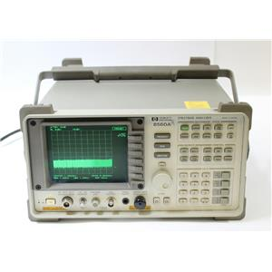 HP Agilent 8560A 50Hz - 2.9GHz RF Spectrum Analyzer with Tracking Generator