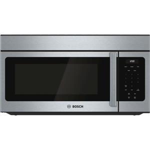 "Bosch 300 30"" 300 CFM Ventilation Over-the-Range Microwave Oven HMV3053U IMGS"