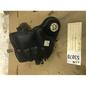 2003-2007 F350 6.0L powerstroke coolant resevoir tag as53870
