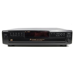 Sony CDP-CE245 5-Disc CD Changer Player