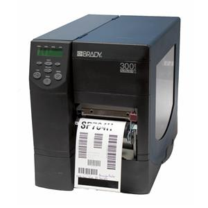 Brady 300 MVP Plus Z4M12-3001-4000 Thermal Barcode Printer Parallel Rewind Peel