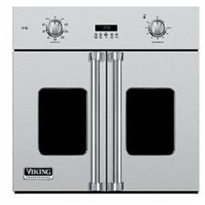 """Viking Professional 7 Series 30"""" SS French Door Single Wall Oven VSOF7301SS"""