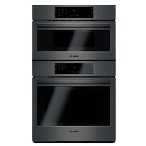 "Bosch 800 Series 30"" Black Stainless Speed Combination Oven - HBL8742UC"