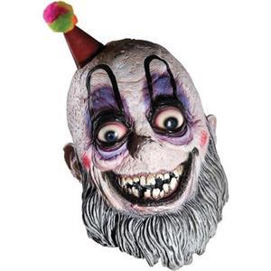 Mr. Curly Adult Scary Clown Mask Spaulding Devil Reject