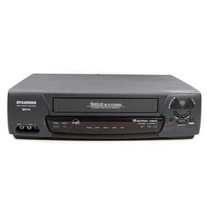 Sylvania KVS699K 4-Head Hi Fi Stereo VHS VCR