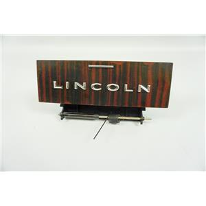 2006-2008 Lincoln Mark Dash Ashtray Storage Compartment Striped Dark Woodgrain