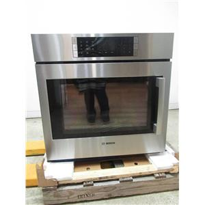 "Bosch Benchmark 30"" 14 Cooking Modes SS Single Electric Wall Oven HBLP451LUC"