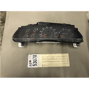 2000-2003 Ford F350 7.3L powerstroke gauge cluster tag as53078