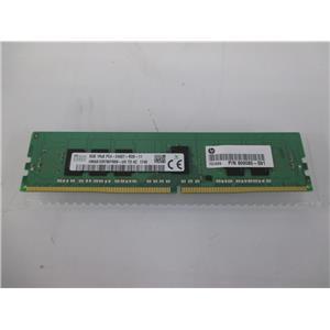 HP T9V39AA HP 8GB 1X8GB DDR4-2400 ECC Reg RAM Memory PC4-2400T