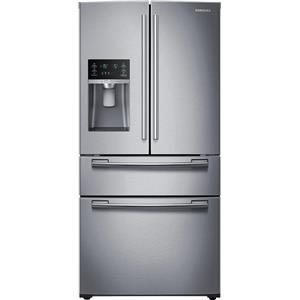 Samsung RF25HMEDBSR 33 Inch 4-Door French Door Refrigerator Images