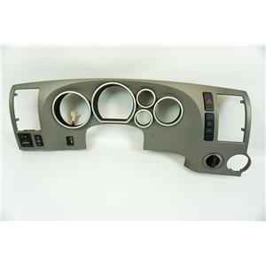 2007-2011 Toyota Tundra Gray Dash Speedometer Bezel Dimmer 4WD Controls Hazard