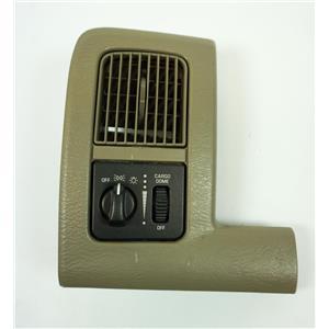 2002-2005 Dodge Ram 1500 2500 3500 Vent Trim Bezel Headlamp Light Dimmer Switch