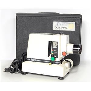 Dukane 28A55 35mm Filmstrip Projector NO LAMP
