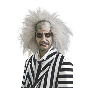Adult Beetlejuice White Costume Wig