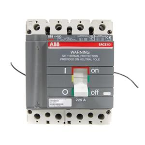 ABB Sace S3 4 Pole 225A  Type S3N 480V-500V Circuit Breaker